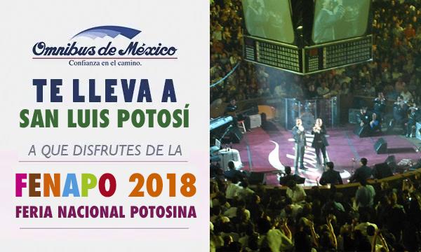 boletos de autobus a San Luis Potosí con Omnibus de México