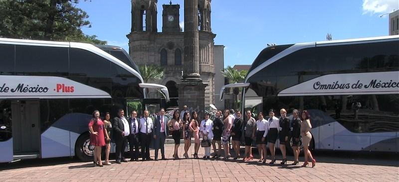 nuevos autobuses doble piso omnibus de mexico