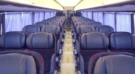 Flecha Roja presenta sus nuevos autobuses de servicio plus