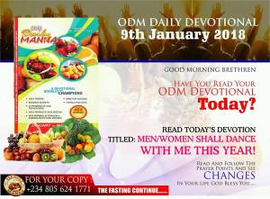 Our Daily Manna Devotional 4 February 2018