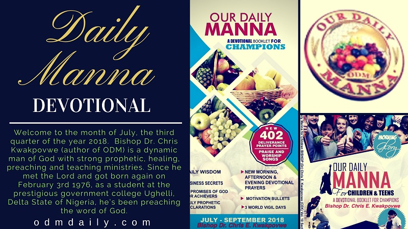 ODM Devotional July