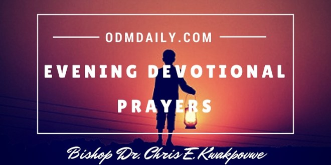 Evening Devotional Prayers