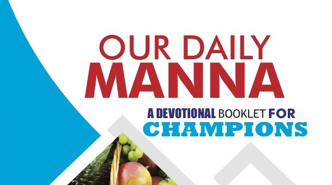 Our Daily Manna 1 September 2018