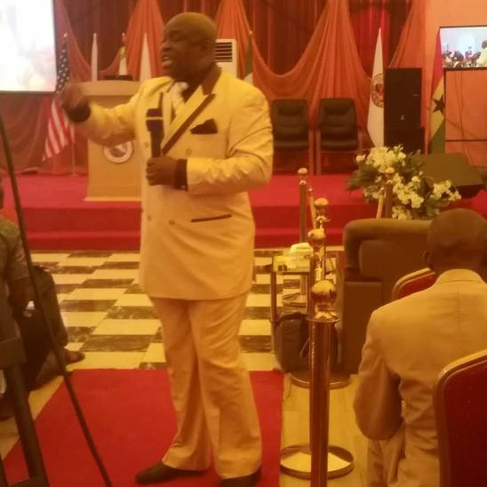 Bishop Chris minister with power