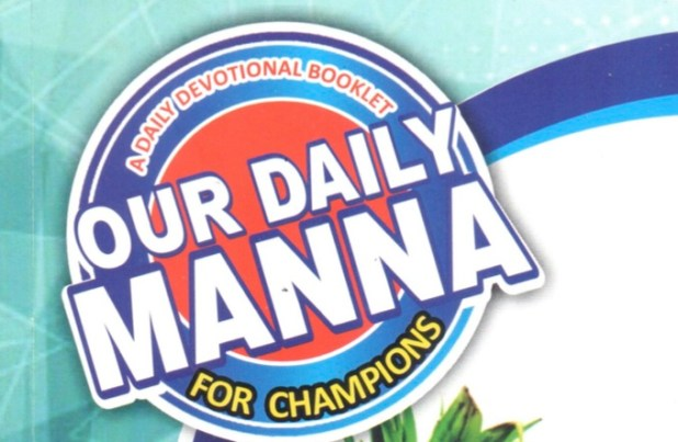 Our Daily Manna Devotional 8 May 2019