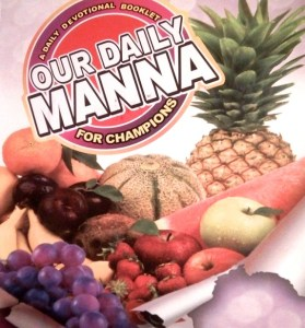 our daily manna July