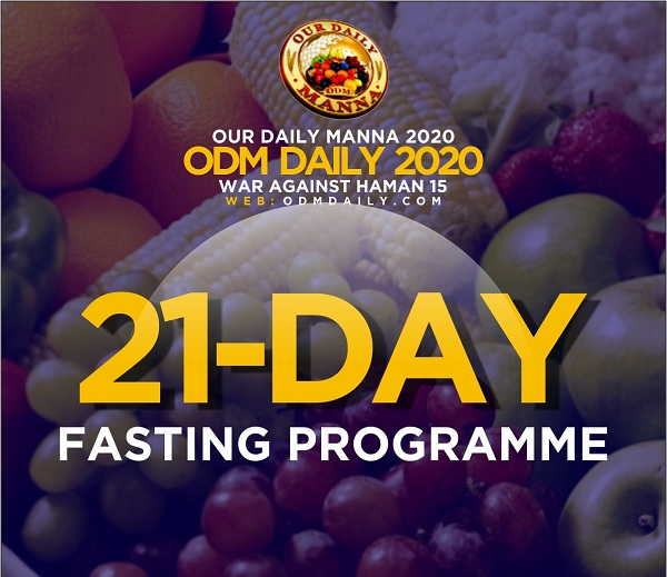 21-day Fasting 2020