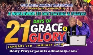 OUR DAILY MANNA 21 DAYS