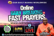 ODM MANNA Breaking of Fast