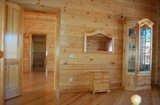 деревянные внутренние перегородки