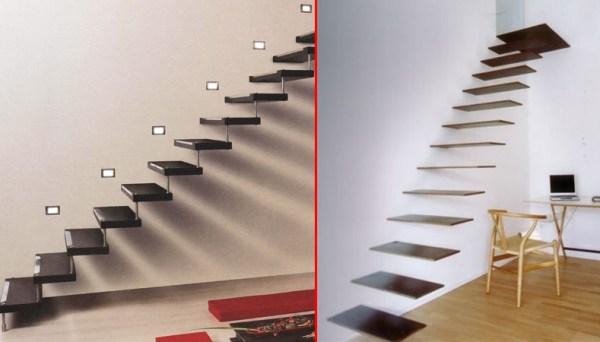 Стильные лестницы на больцах