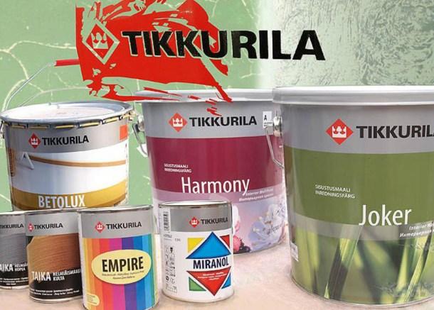 какую краску выбрать - TIKKURILA