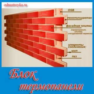 термопанели для фасада
