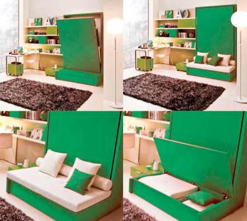 Кровать-трансформер в детской комнате