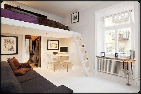 Второй уровень в квартире, высокие потолки
