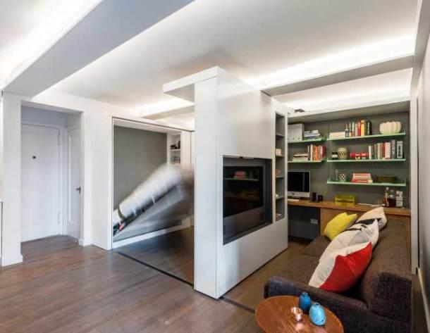 интерьер маленьких квартир, трансформеры