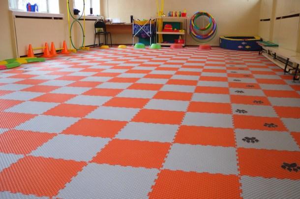 модульные пвх покрытия в детскую комнату