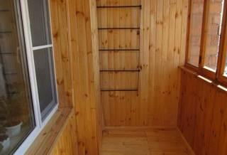 перегородка на балконе