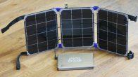 Солнечное зарядное устройство-книжка