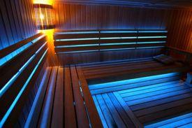 Светодиодное освещение в бане