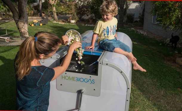домашняя биогазовая установка