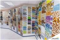 Ассортимент плитки мозаики