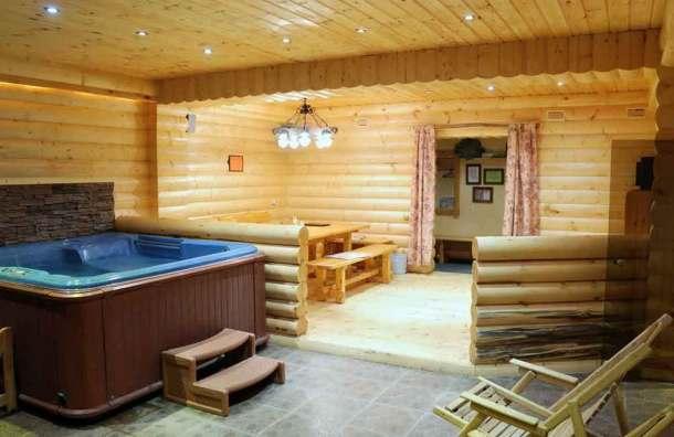комната отдыха в бане и бассейн