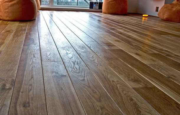 как постелить деревянный пол