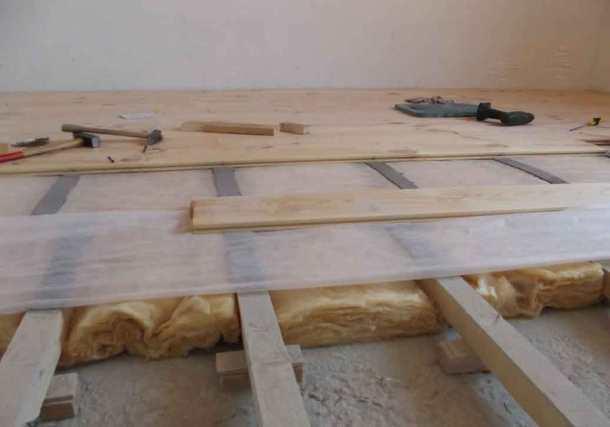 самому постелить деревянный пол