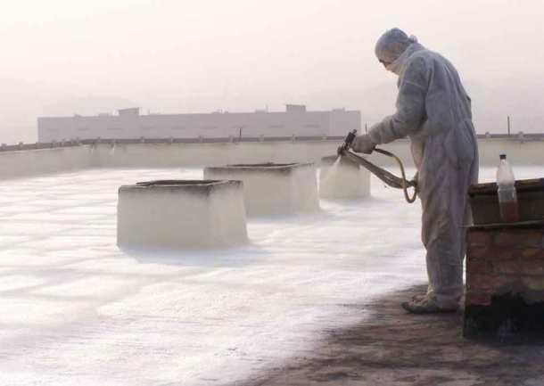теплоизоляция краской плоской крыши