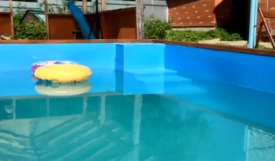 пластиковый, полипропиленновый бассейн