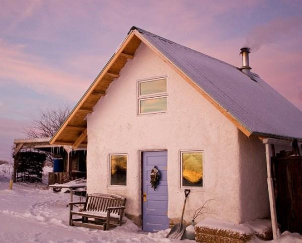 глинобитный дом