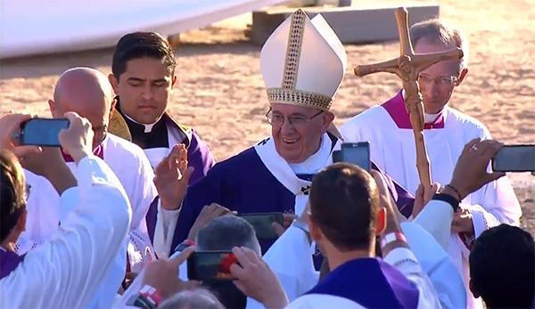 Resultado de imagen para papa francisco en cd juarez misa