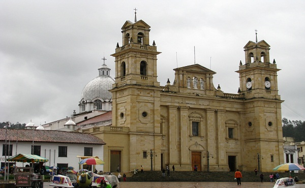 Basílica de Nuestra Señora del Rosario de Chiquinquirá. Boyacá, Colombia.