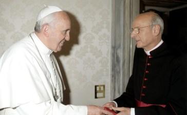 Le Pape François et Fernando Ocariz