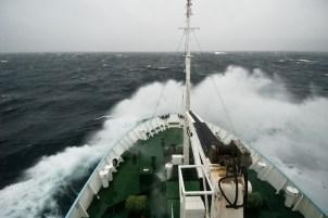 Баренцево море. Шторм.