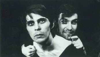 Театр «Мимоходъ». Сергей Везнер и я.