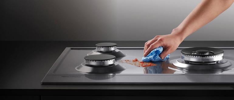 Как быстро отмыть плиту от жира в домашних условиях 18