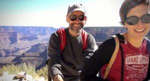 Dave and MT at The Grand Canyon, October 2019