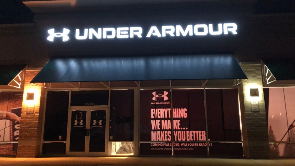 Under Armour Commercial Cleaning Services