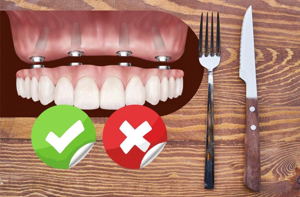 Alimentação Após Implantes Dentários