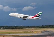 Emirates lietadlo