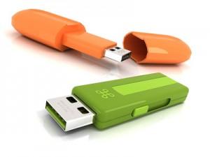 USB disky