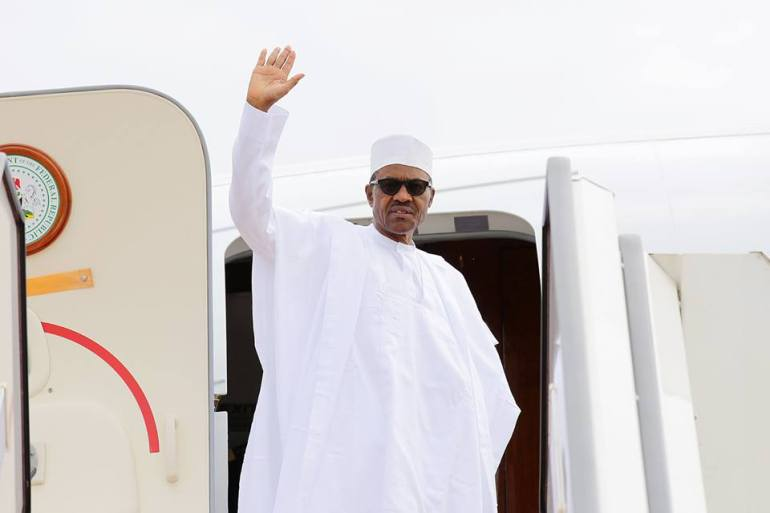 Buhari Jets To Ethiopia For AU Meeting