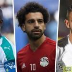 Mane, Salah, Mahrez Make Final Three for African Footballer Of The Year