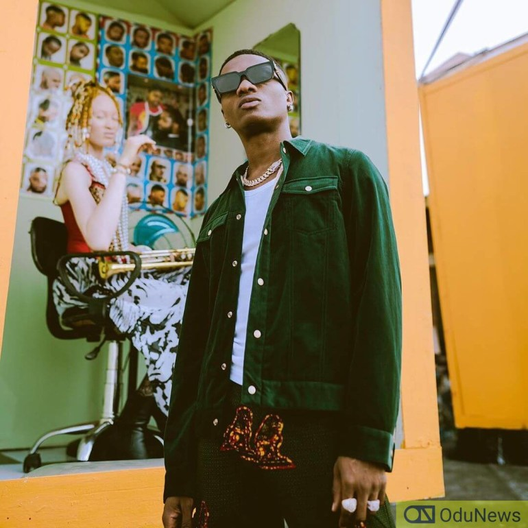 Wizkid has a new look