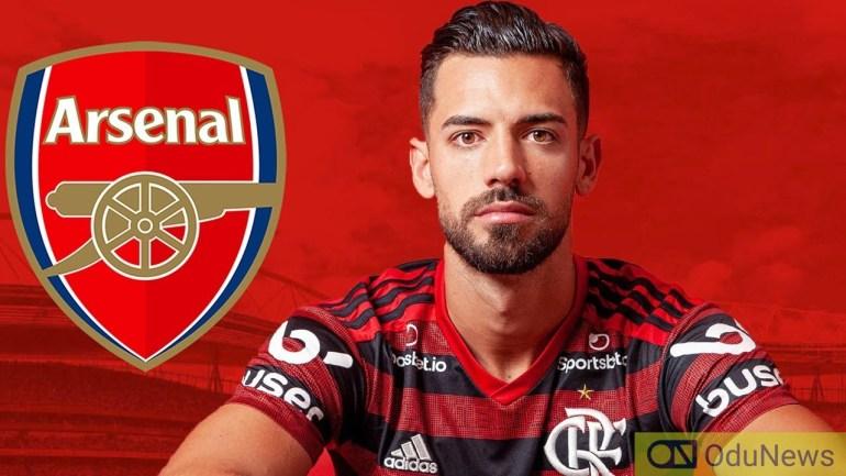 Pablo Mari arrives London for Arsenal Medicals