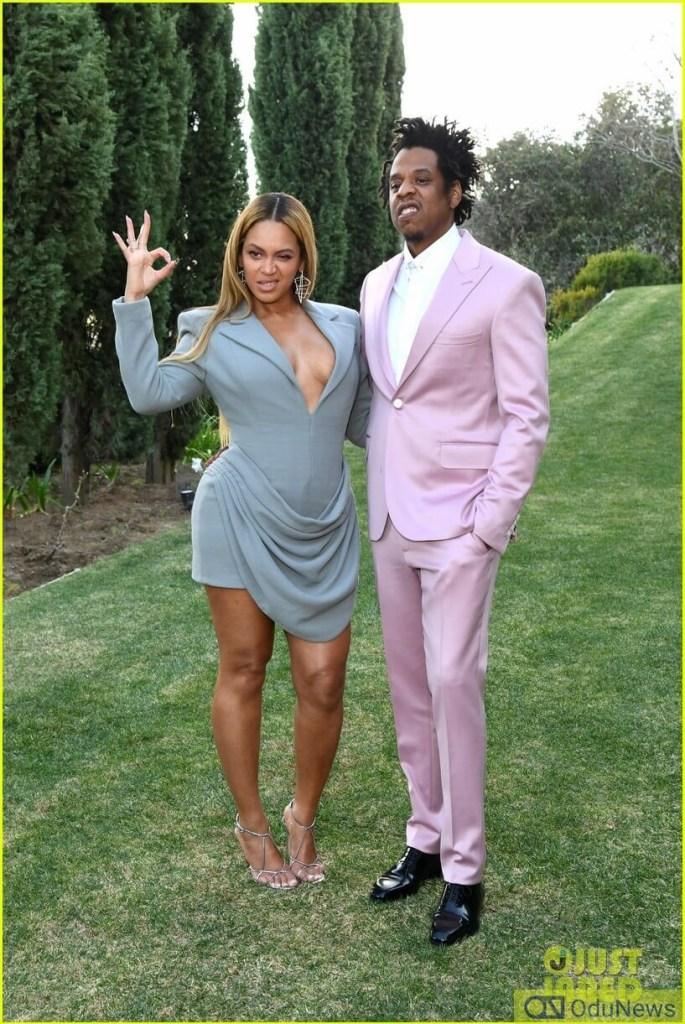 Beyonce and Jay Z step out for Pre-Grammys 2020 Brunch with Roc Nation