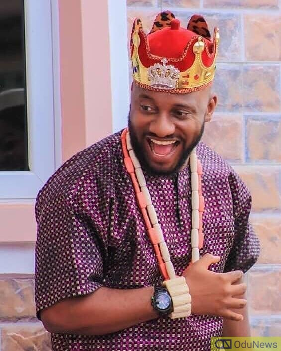Yul Edochie reacts to his dad's comments on a proposal