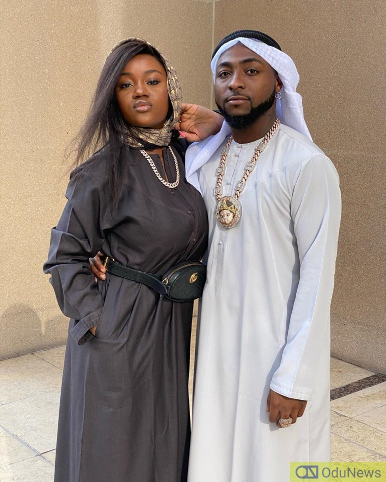 Davido and his Wife Chioma